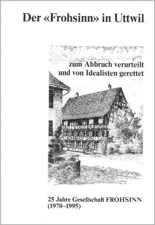 Der Frohsinn Titelbild Ernst Lehner